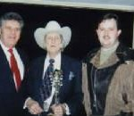 Fred Spencer Sr. Bill Monroe, Fred Spencer Jr.